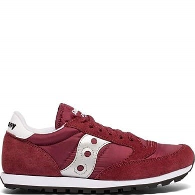 Women's Red sneakers are the best type of mom shoe there is they are comfortable classic shoes to chase after the kids.