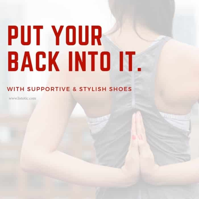 Your work outfit needs to be comfortable and stylish shoes. Work out shoes and work shoes should be comfortable, stylish and and support our back.