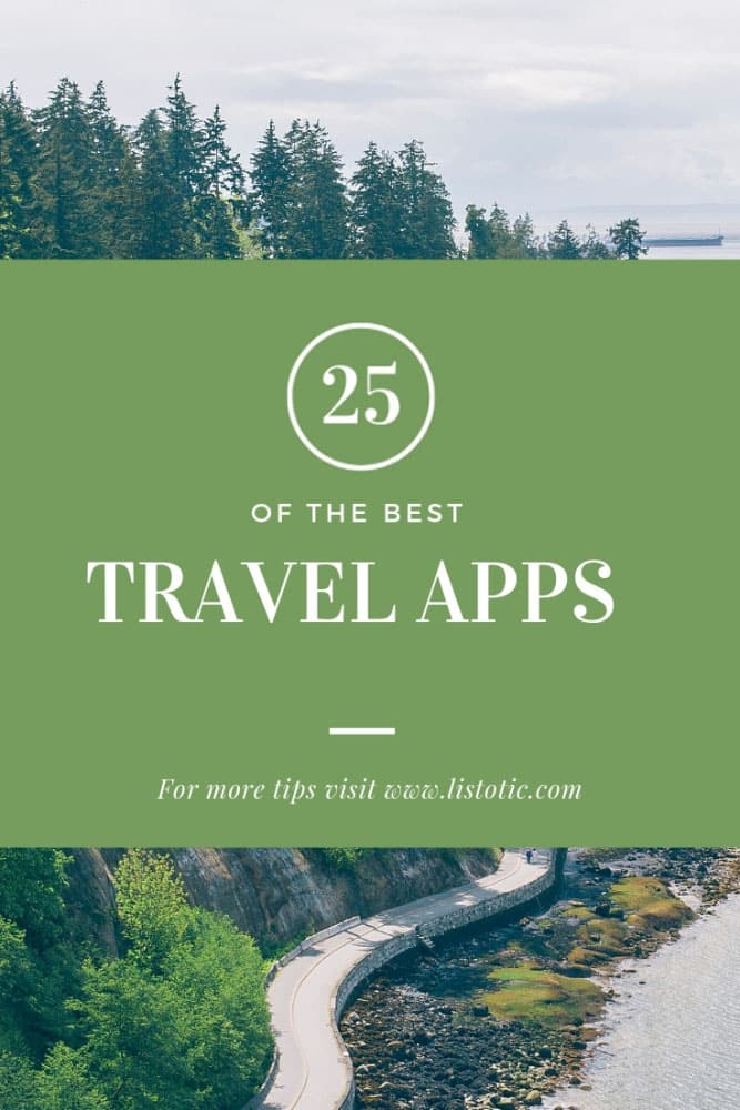 25 of the Best Travel Apps - Adventure Awaits!