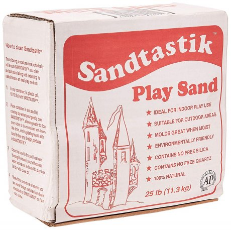 box of play sand for great summer products list