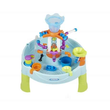 little tikes outdoor water table with multi functions for young kids to explore