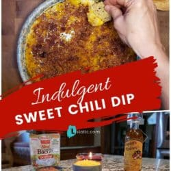 Ingredients for Sweet Chili Cheese Dip