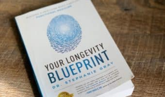 Your Longevity Blueprint book - helpful in your journey to reclaim your health and vitality.