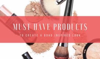 Boho inspired makeup