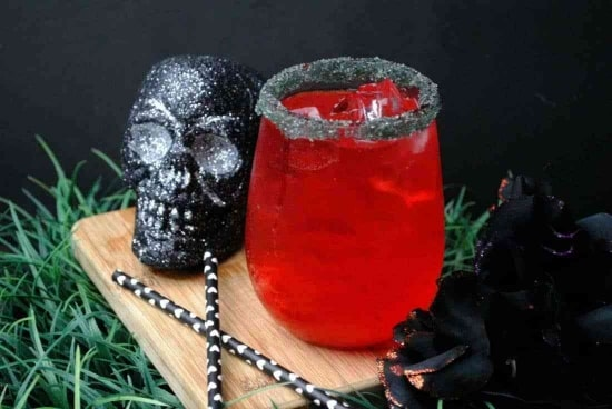 Game of Thrones inspired Halloween Cocktail named after The Red Woman.