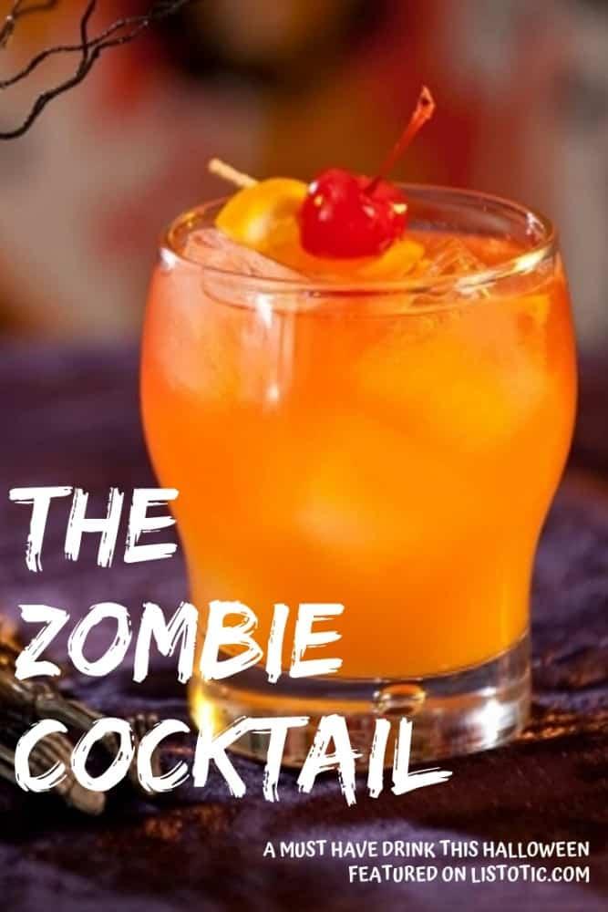 An orange drink for Halloween.