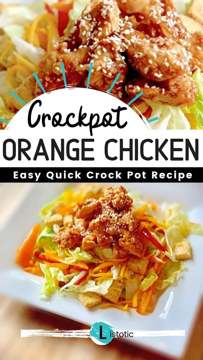 Crockpot Orange Chicken recipe. Easy & quick.