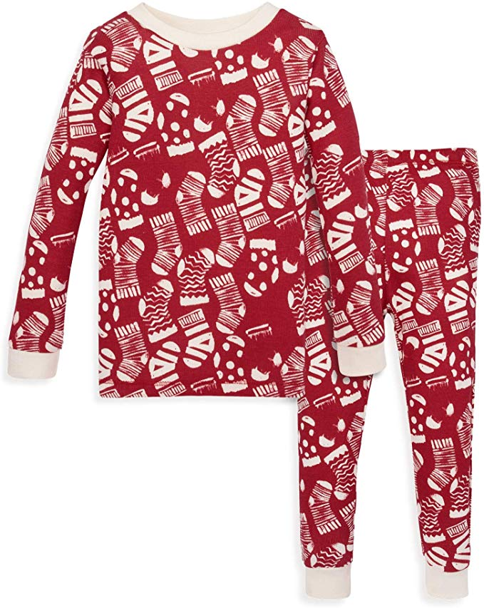 Burt's Bees Baby Pajamas - Holiday Stockings.