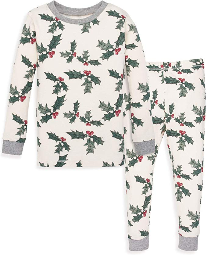Burt's Bees baby pajamas - Holiday Holly.