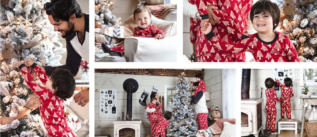 Burt's Bees Family Jammies - Festive Forest.
