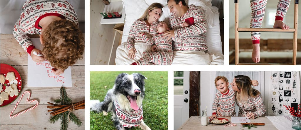 Burt's Bees Family Jammies - Dashing Deer