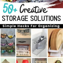 Ideas for storage in the bedroom, kitchen, garage, bathroom and closet