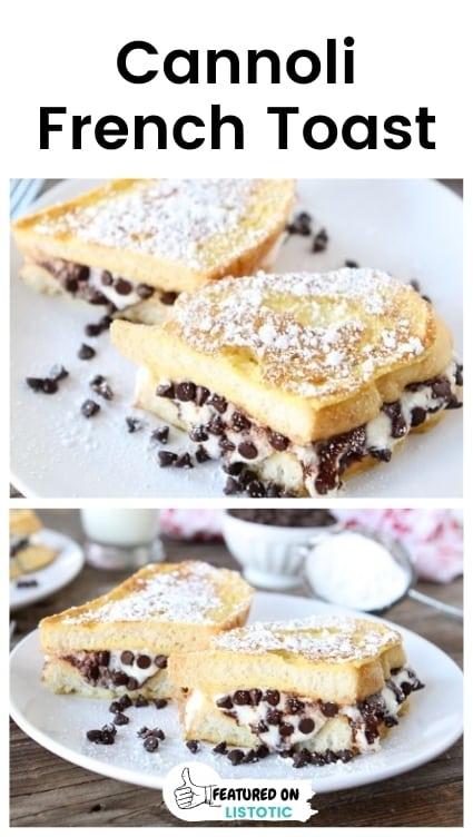 Cannoli stuffed french toast recipes.