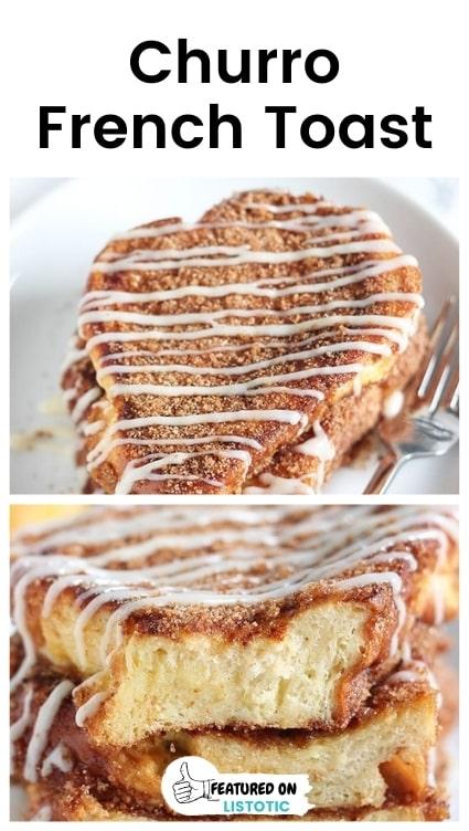 Churro french toast recipes.