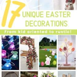17 unique easter decorations from kid oriented to rustic