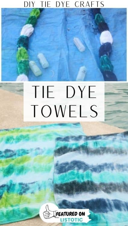 DIY beach towels.