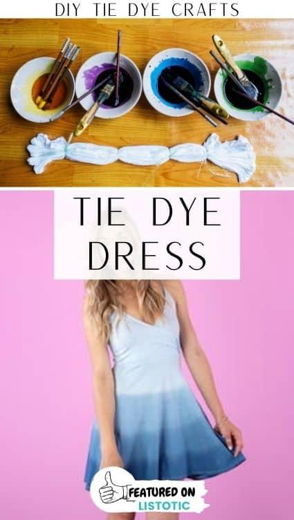 DIY ombre dress.