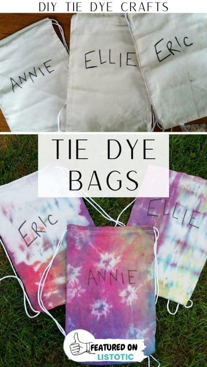 DIY drawstring bags.
