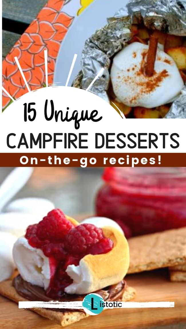 15 unique campfire desserts on the go recipes