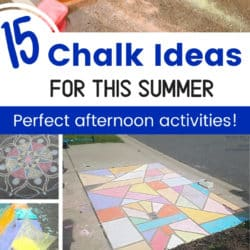 15 chalk activities for this summer perfect afternoon activities