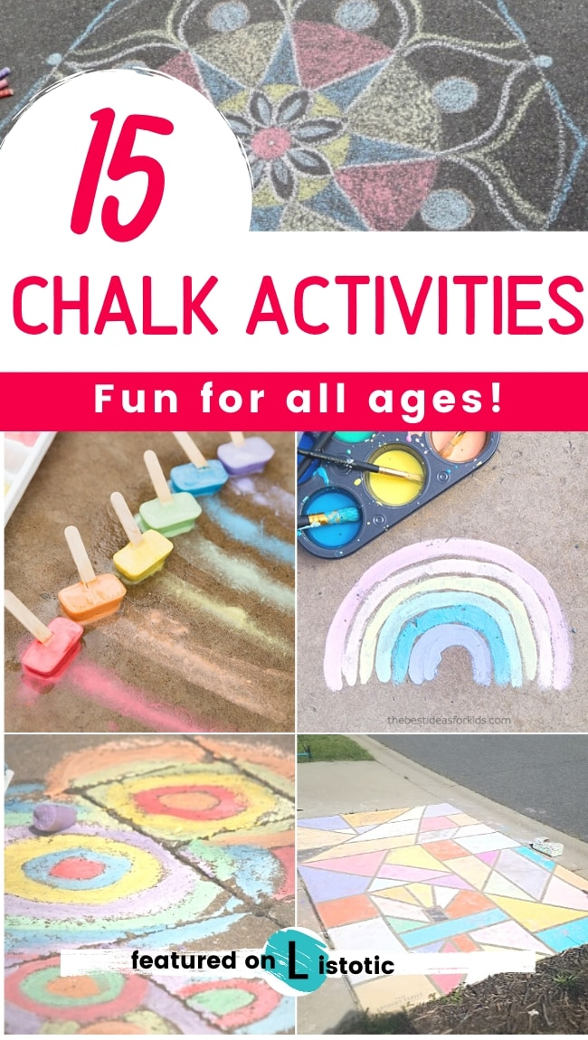15 chalk activities fun for all ages