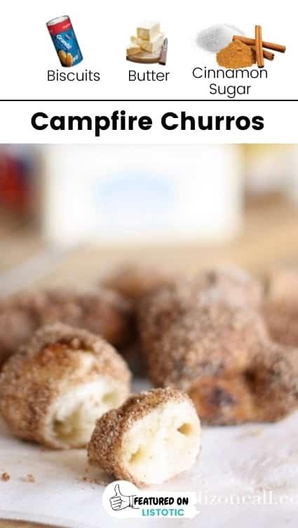 Camping churros.