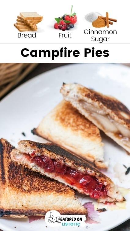 Camping pies.