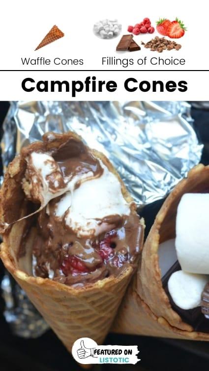 Camping cones.