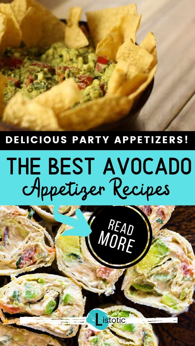 delicious party appetizers the best avocado appetizer recipes read more