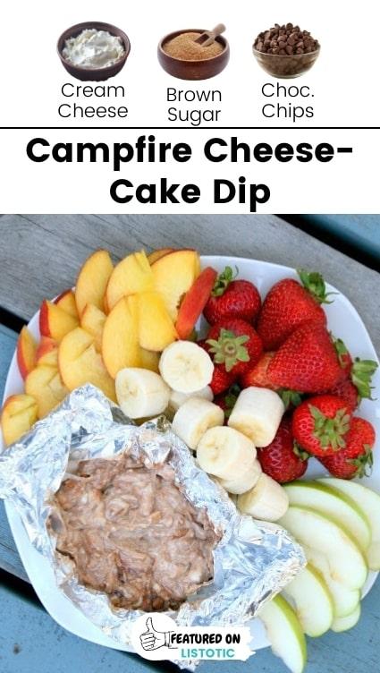 Cheese cake fruit dip.
