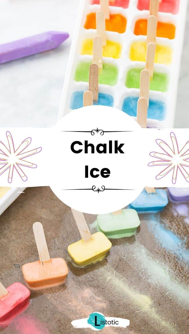 Chalk ice.