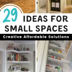 Ideas for using wall space to create a more spacious living area through small space organization