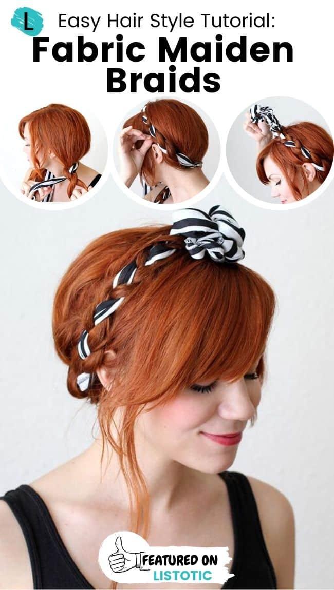 Fabricmaiden braids hairstyle.