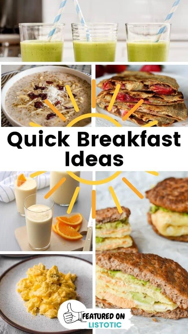 Schnapp dir ein kohlenhydratarmes Frühstück.