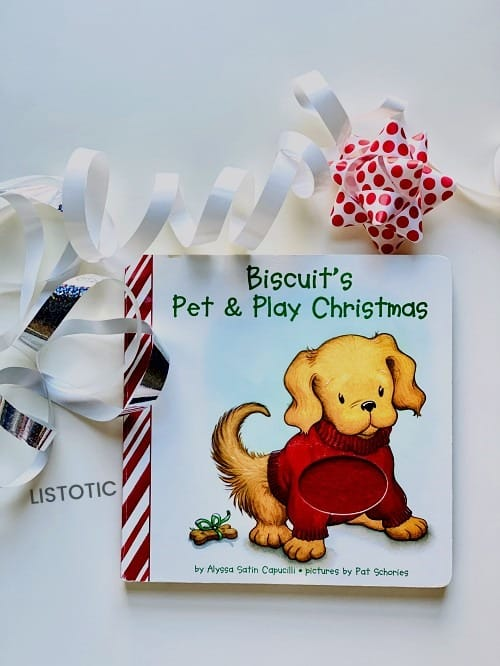 Touch and feel baby Christmas picture books
