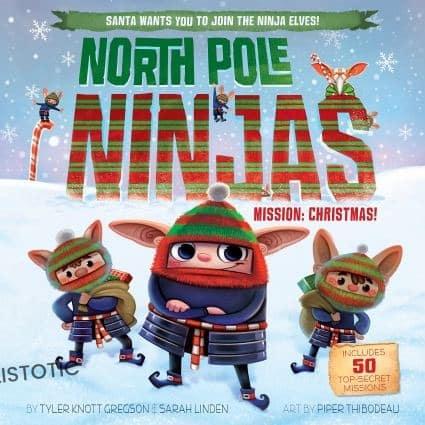 North pole ninjas Christmas books for kids
