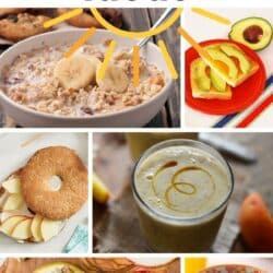 Quick and easy breakfast ideas on the go.