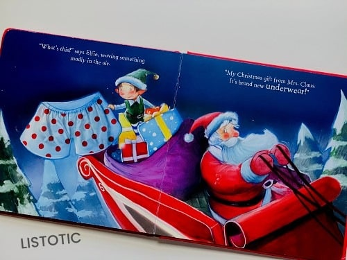 Santa's on his way to my house best Christmas Picture books