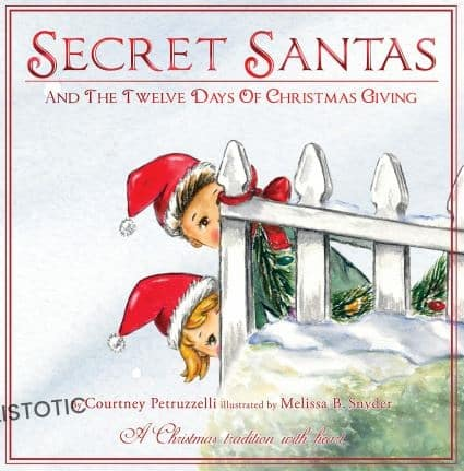 Secret Santa's and the twelve days of Christmas Giving Christmas stories read aloud book