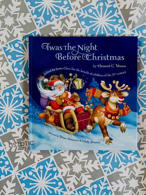 Twas the the night before Christmas bedtime stories read aloud