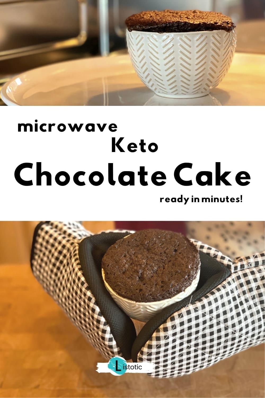 microwave keto chocolate mug cake recipe