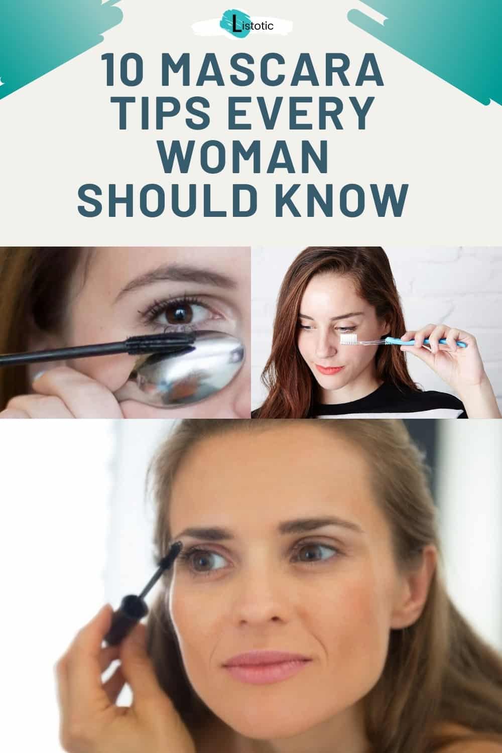how to apply mascara and mascara tips for women applying makeup