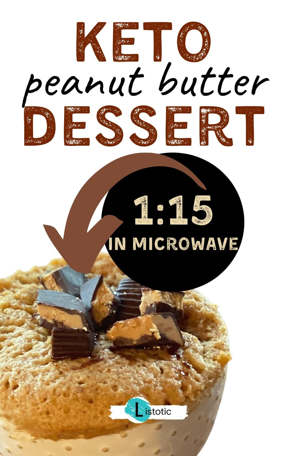 Keto Dessert Recipe made in the microwave