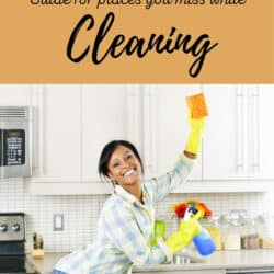 Have fun while cleaning with this room by room guide