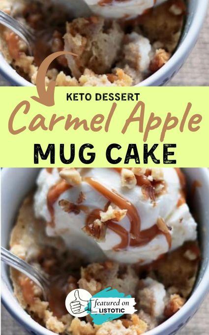 Carmel apple keto dessert recipes