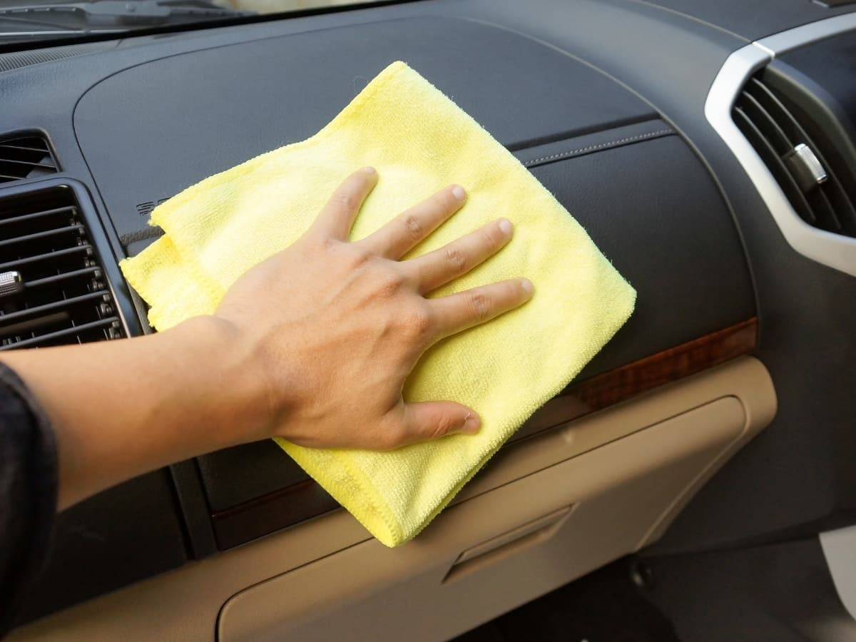 deep clean the inside of your vehicle