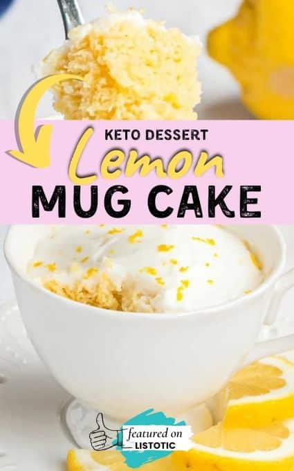 Lemon keto dessert recipes