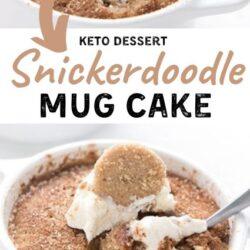 snickerdoodle keto dessert recipes