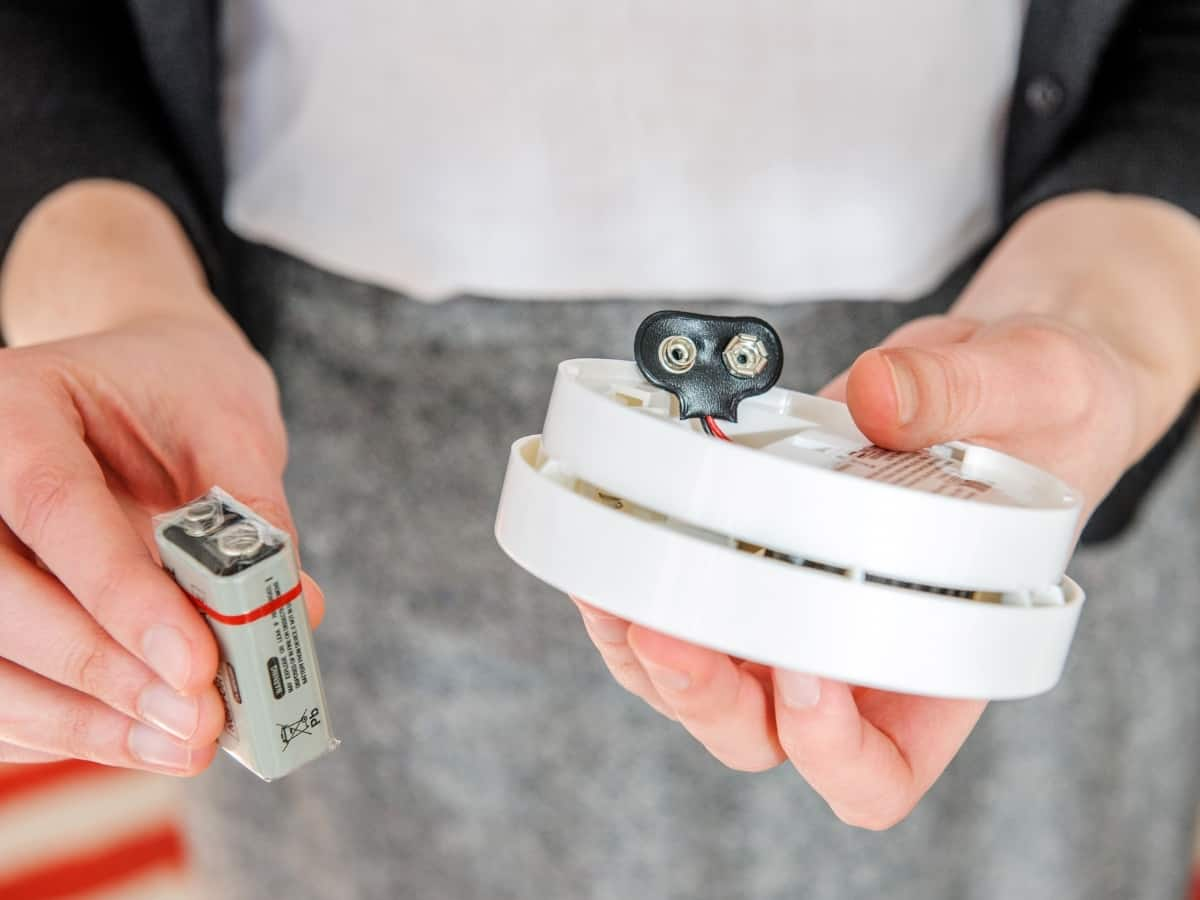 change your batteries in your smoke alarm