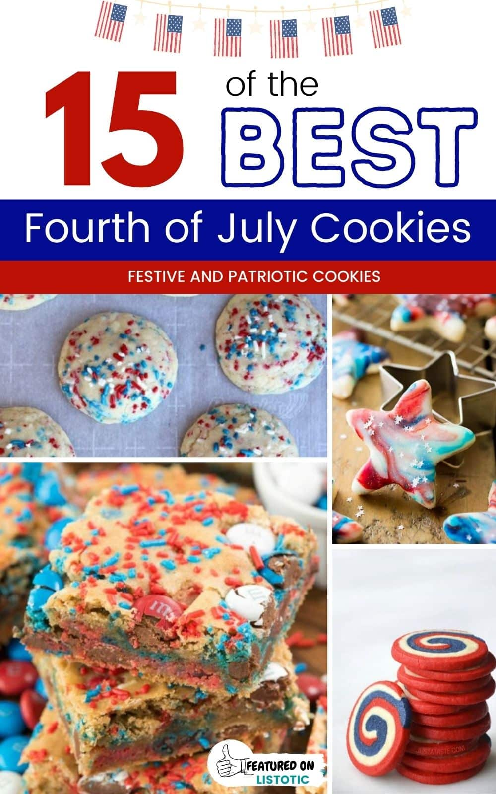 15 of the best fourth of july cookies recipes